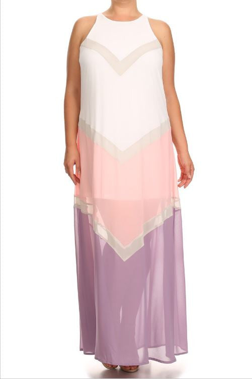Ronke Dress Blush Lavender - LAYMAXX