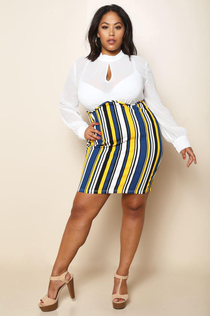 Voltage Plus Size Dress