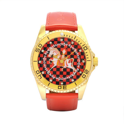 Windhorse Watch (Red)