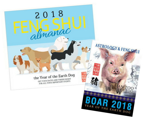 2018 Almanac + Boar Horoscope Book - Special Offer!!!