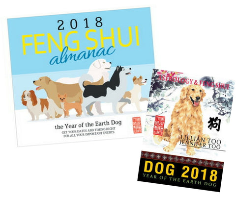 2018 Almanac + Dog Horoscope Book - Special Offer!!!