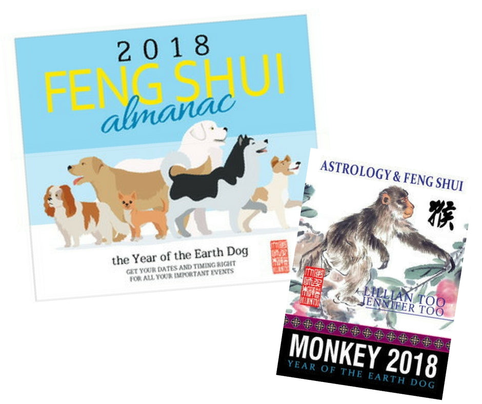 2018 Almanac + Monkey Horoscope Book - Special Offer!!!