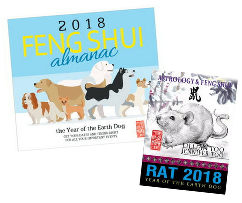 2018 Almanac + Rat Horoscope Book - Special Offer!!!