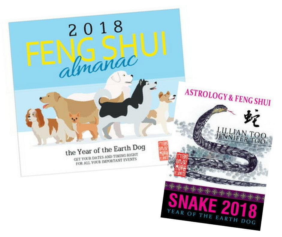 2018 Almanac + Snake Horoscope Book - Special Offer!!!