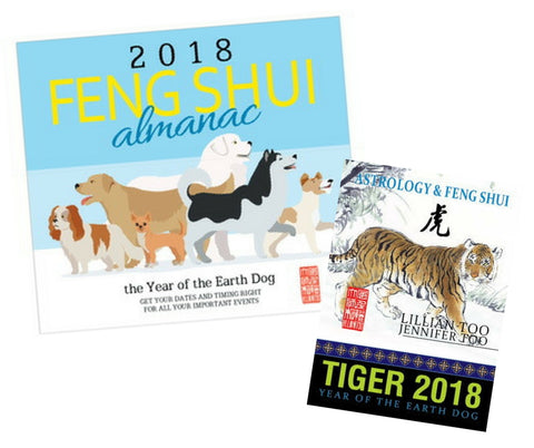 2018 Almanac + Tiger Horoscope Book - Special Offer!!!