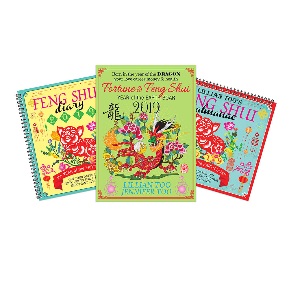 2019 DRAGON BUNDLE - HOROSCOPE BOOK, ALMANAC & DIARY