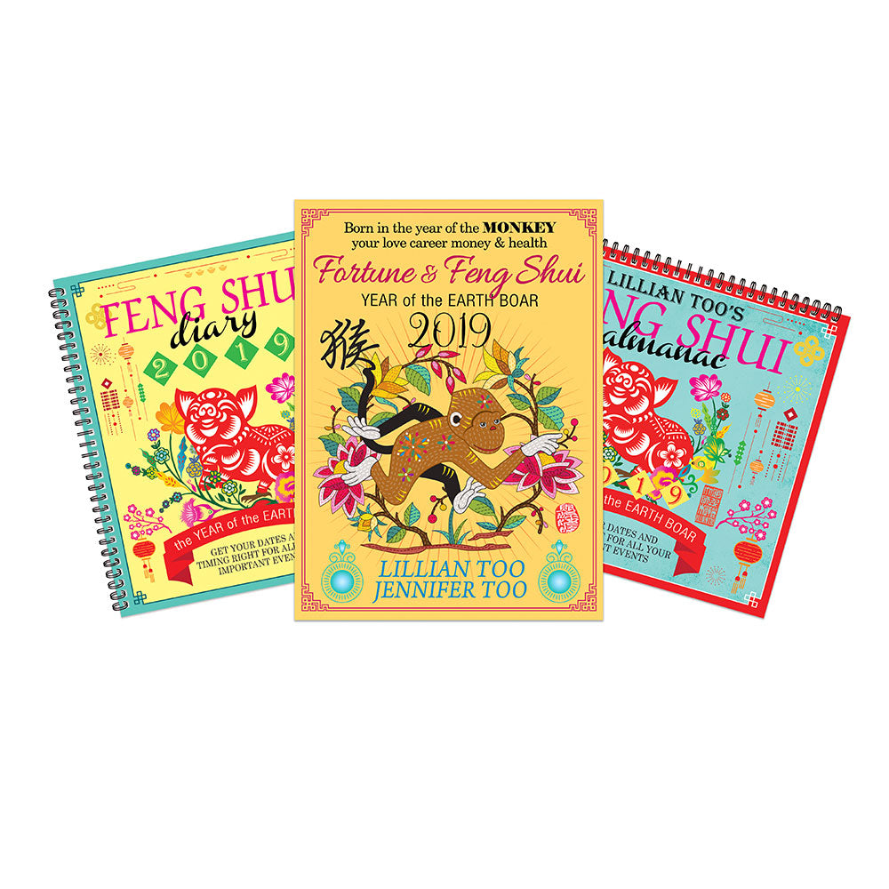 2019 MONKEY BUNDLE - HOROSCOPE BOOK, ALMANAC & DIARY