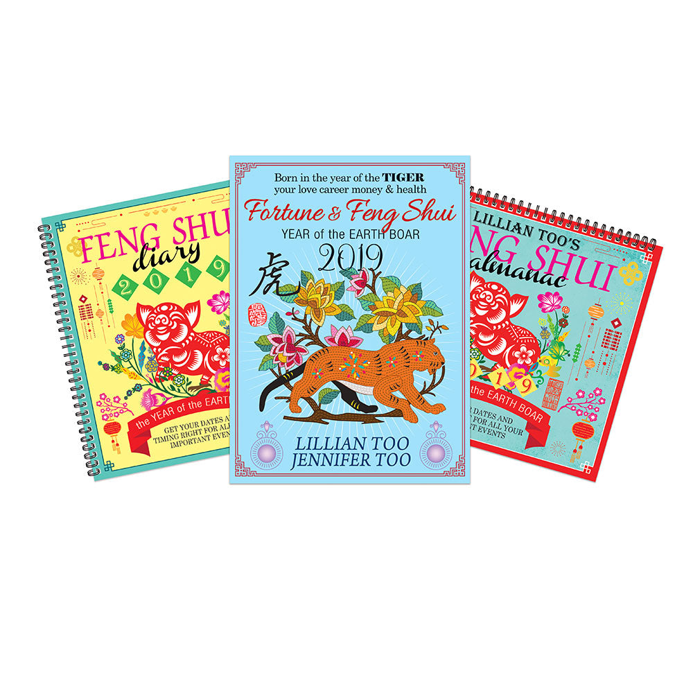 2019 TIGER BUNDLE - HOROSCOPE BOOK, ALMANAC & DIARY