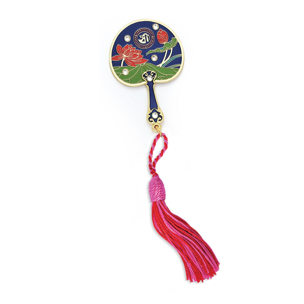 LOTUS MIRROR FAN BRINGS PROSPERITY AND SUCCESS ENERGIES YOUR WAY