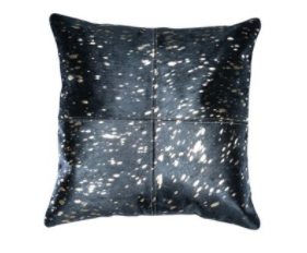 Sequence Hair-On-Hide Pillow Cover