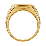 14k Gold 0.40 CT Diamond Men's Ring