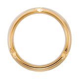 14k Gold 6mm Grooved Wedding Band