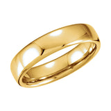 14k Gold Euro-Style Light Comfort-Fit Wedding Band