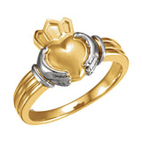Claddagh Gold Wedding Band