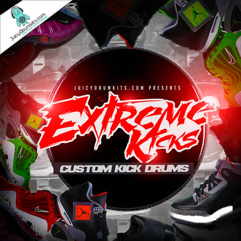 Extreme Kicks Vol. 1 [Custom Kick Drums]