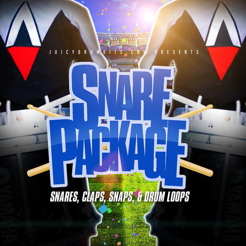 Snare Package: Snares, Claps, & Drum Loops [Drum Samples]