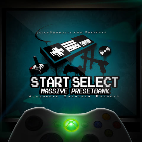 Videogame Massive Presets - START SELECT Massive Presetbank [Synth Presets]
