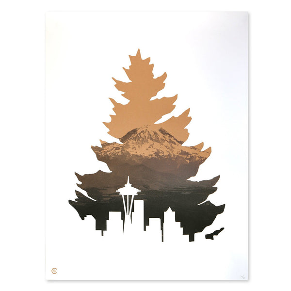 Johnny Tree Rainier - Print
