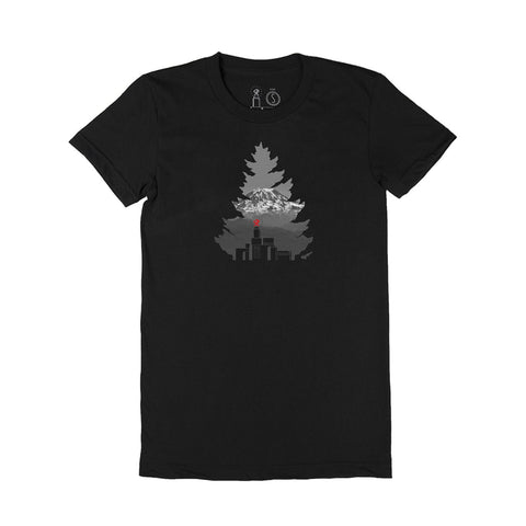 Johnny Tree Rainier - Michael Scott Ladies Boyfriend Tee