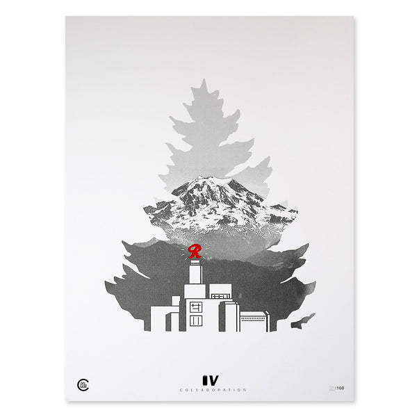 Johnny Tree Rainier Michael Scott- Print
