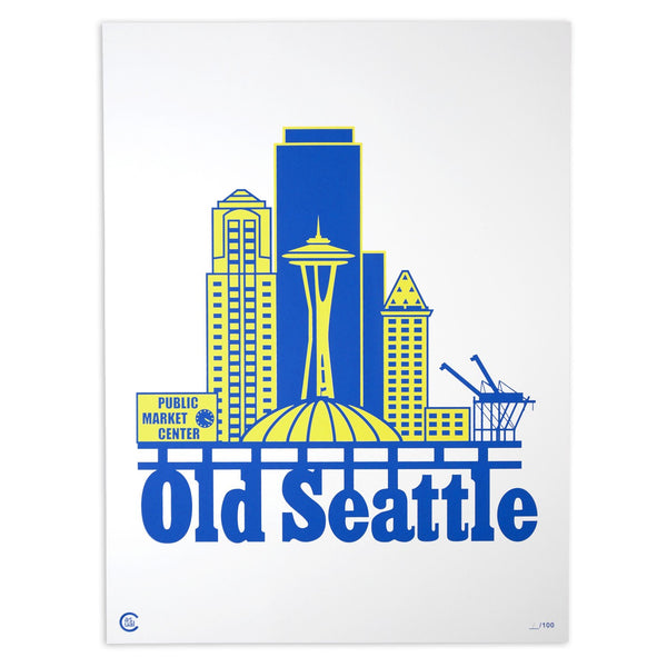 Old Seattle - Print