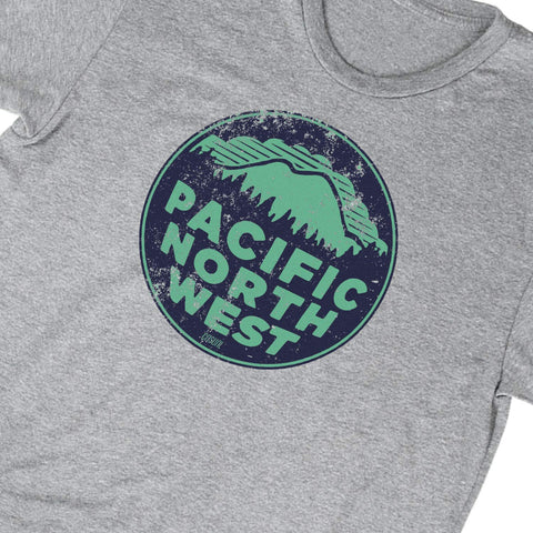 PNW 2 Color - Distressed