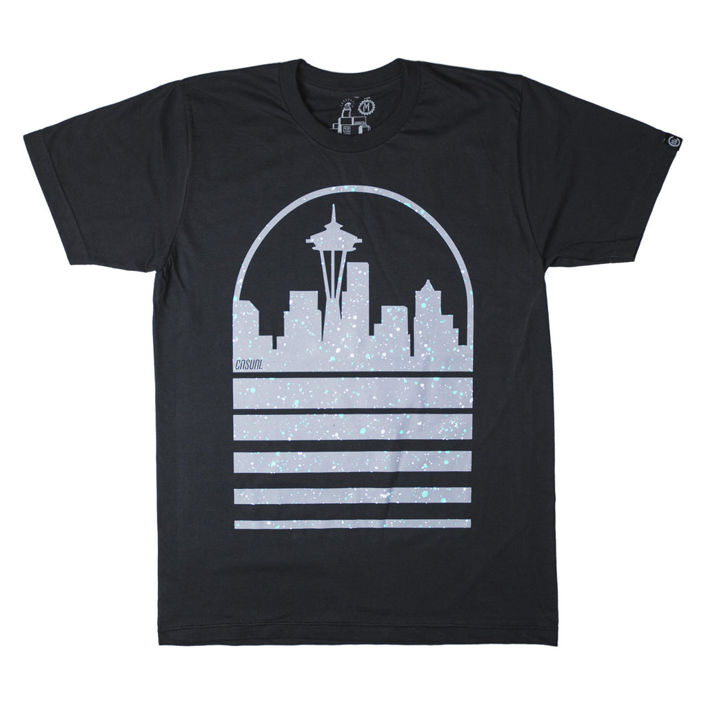 Seattle Skyline Speckled