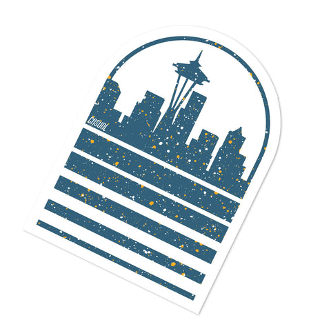 Seattle Speckled Skyline