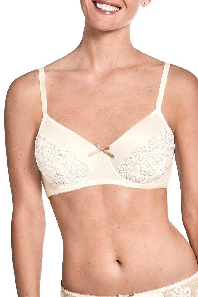 Arielle Underwired Bra - Off-White / Beige #44562