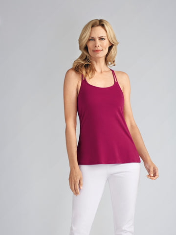 Back Ring Top - Raspberry