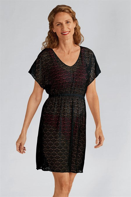 Amoena Beach Tunic Black 71074