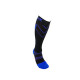 CSX Compression Socks X200-RYB 15-20 MMHG, ROYAL BLUE ON BLACK