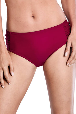 Dubai Medium Height brief - Burgundy #44601
