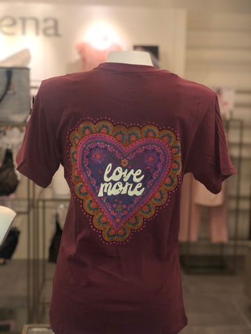 Natural Life Comfy Tee-Love More