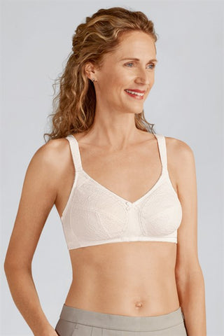 Amoena Ina Wirefree Off White Bra 44136