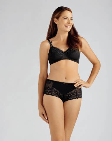 Amoena Karla Non-Wired Bra Black