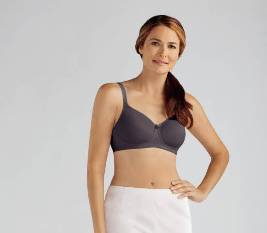 Mara Non-Wired Bra Dark Grey