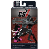 CSX Compression Socks X200-PB 15-20 MMHG, PINK ON BLACK