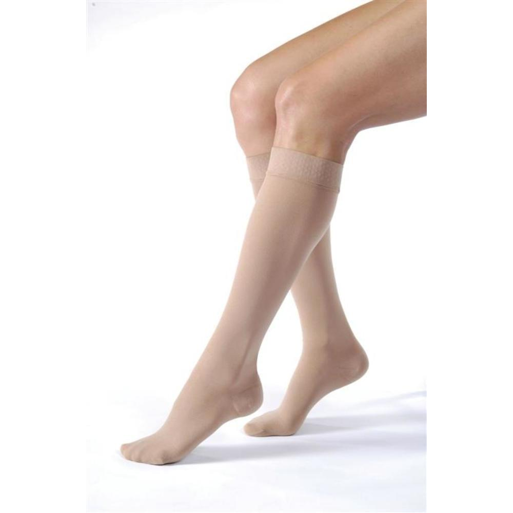 Jobst Relief Knee High Compression w/ Silicone Band Top 20-30mmHg