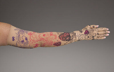 Lymphedivas Mariposa Beige Arm Sleeve