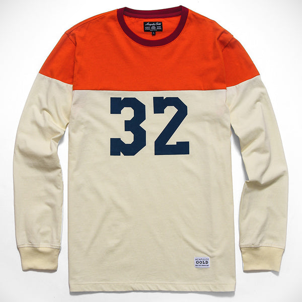 Acapulco Gold - Pro League L/S Shirt - Cream