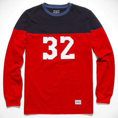 Acapulco Gold - Pro League L/S Shirt - Red