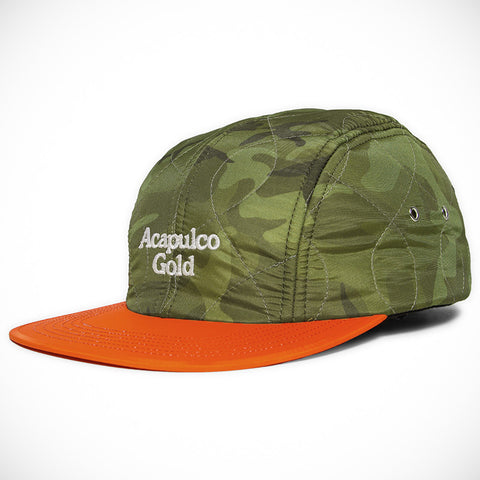 Acapulco Gold - Outland Quilted Sport Cap - Green Camo