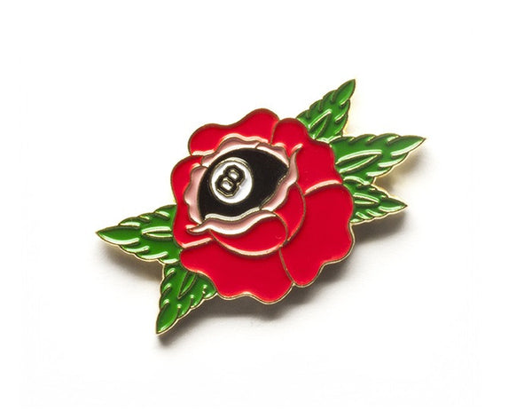 Tom Grunwald - True Love Lapel Pin - Red/Green