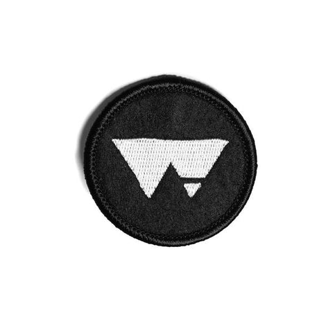 Raised by Wolves - Pyramids Patch - Black