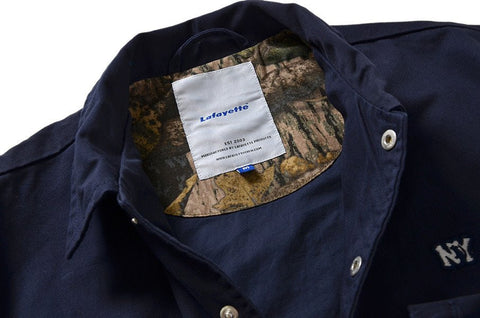 Lafayette - Run NYC Coach Jacket - Navy
