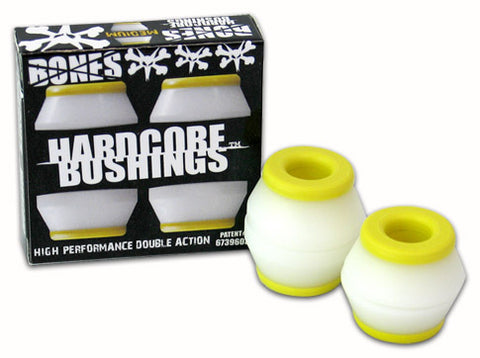 Bones - Hardcore MEDIUM Bushings - Yellow/White