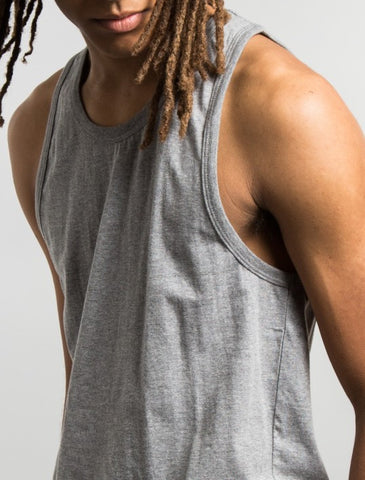Stussy - Original Stock Tanktop - Heather Grey
