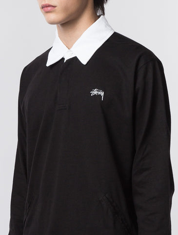 Stussy - Pocket Rugby - Black