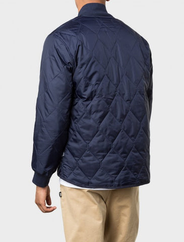 Stussy - Quilted Military Jacket - Navy